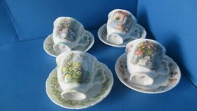 Brambly Hedge,  FULL  SET OF 4  SEASONS DUOS 1st QUALITY • 110£