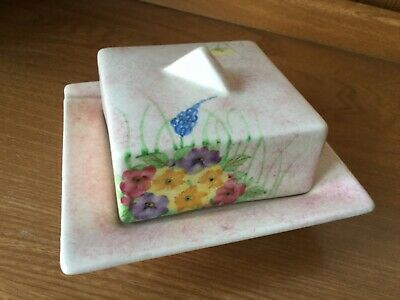 🌼Radford Butter Dish With Hand Painted Floral Design🌼 • 10£