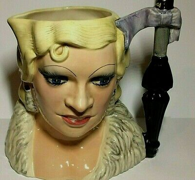 Royal Doulton Large Character Jug, Mae West,celebrity Collection, D.6688. 1st.q • 35.99£