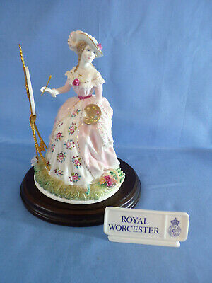 Limited Edition Royal Worcester Figure The Graceful Arts No 2342 Maureen Halson • 220£