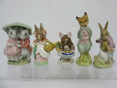 Collection Of Five Beatrix Potter Figurines - Beswick/Royal Albert/Royal Doulton • 31£