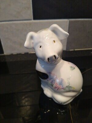 Rare Aynsley Little Sweetheart Pig Trinket Box / Ornament. Excellent Condition.  • 2.50£
