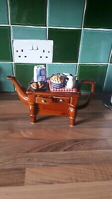 Cardew Novelty Collectable Lge Teapot Baking Day Table • 16.90£