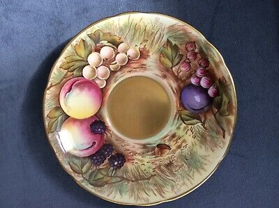 "Aynsley Orchard Gold Saucer Approximately 6"" Diameter  • 4.20£"