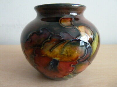 Small Moorcroft Flambe Orchid Vase • 225£