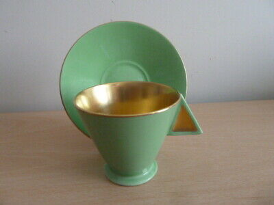 Stunning Shelley Mode Coffee Cup And Saucer Must See • 110£