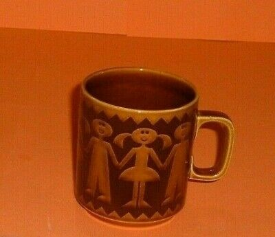 Boys And Girls Holding Hands Mug, By John Clappison.  Very Rare  (1411) • 10.53£