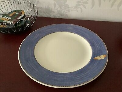 Wedgwood Queensware Sarah's Garden Large Dinner Plate - Blue - 6 X Available • 10£