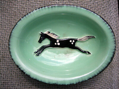 Art Deco Or Vintage Bowl Decorated With Horse Goldscheider Pottery Staffordshire • 15£