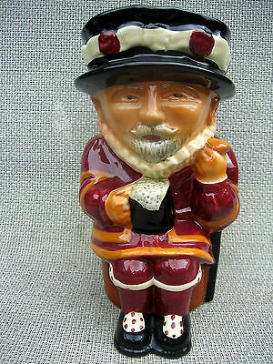 Vintage Shorter & Son Toby Character Jug Beefeater Large Size LS Stunner • 50£
