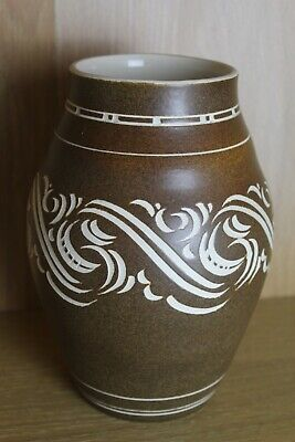 Pearsons Of Chesterfield Large Grecian Style Stoneware Vase • 19.99£