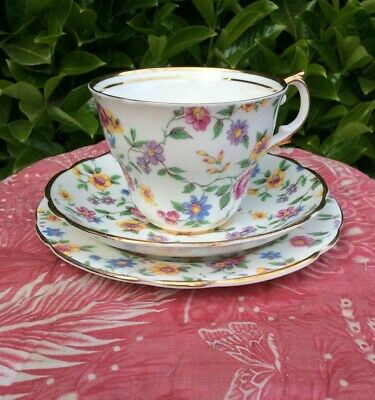 Antique Chintzware Cup And Saucer  • 20£
