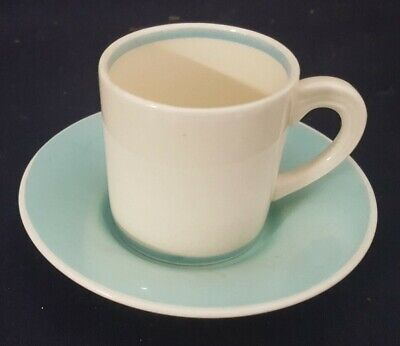 Vintage Deco Susie Cooper Pottery Coffee Can & Saucer • 9.99£