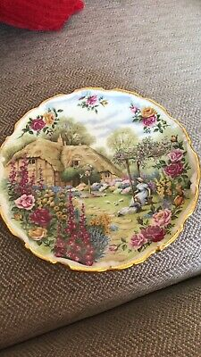 Vintage Royal Albert Wall / Cabinet Plate  Tranquil Garden  .... Fred Errill • 11.99£