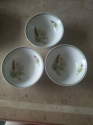 Johnson Brothers 3 X Soup / Cereal Bowls • 3£