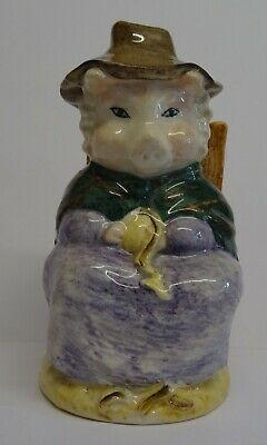 Royal Albert Beatrix Potter Figure And This Pig Had None. • 7.99£