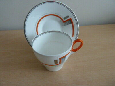 Very Unusual Shelley Coffee Cup And Saucer. • 12.99£