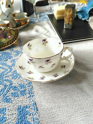 Vintage Fine China Hammersley Floral Cup & Saucer 5063 (42) Good Condition • 4.99£
