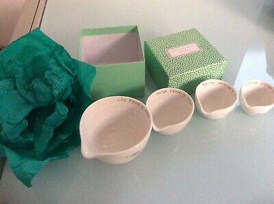 Sophie Conran For Portmeirion Set Of 4x Measuring Cups With Spouts, Boxed • 7.50£