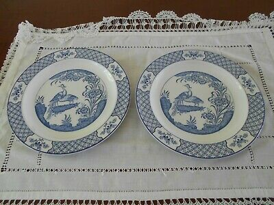 Yuan    Wood &son Plates Blue And White • 7£