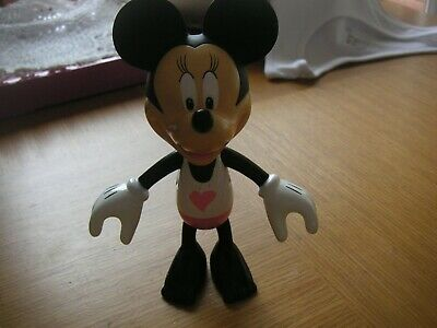 Childs Minni Mouse Toy - 5.5  Tall - Perfect Condition • 3£