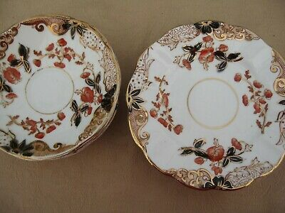 China No 980 W & H L 4 Saucers And 5 Side Plates • 5£