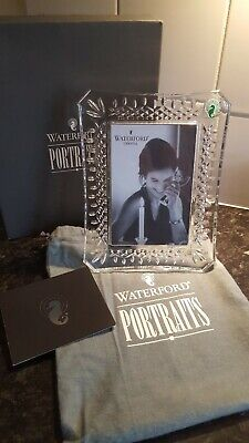 WATERFORD CRYSTAL LISMORE PICTURE FRAME 4  X 6  - BRAND NEW • 79.99£