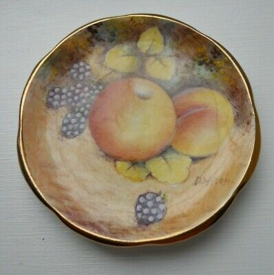 Dunheved Hand Painted Fruit  MINIATURE Plate • 35£