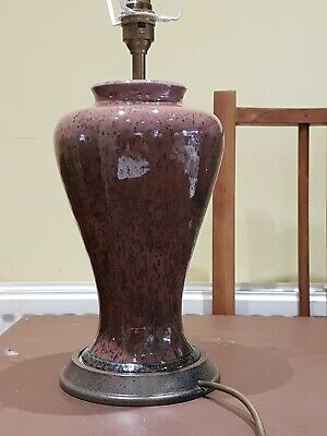 Beautiful Rare Cobridge Stoneware  Pottery Table Lamp Base  • 125£