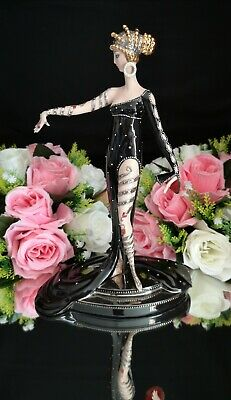 Franklin Mint House Of Erté Figurine ''Pearls And Rubies'' • 299£