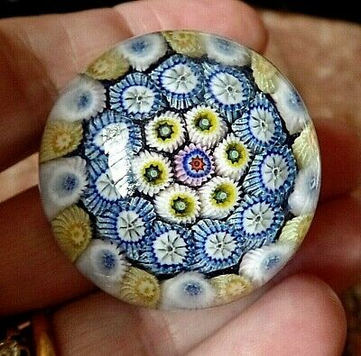 Small Vintage Perthshire Millefiori Paperweight  • 14£