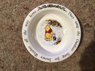 ROYAL DOULTON WINNIE THE POOH CEREAL BOWL In Unused Condition  • 1£