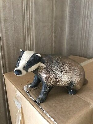 Purbeck Pottery Large Badger • 6.90£