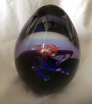 """Caithness Glass  Ascension"""" Paperweight By Alistair Stewart .V.G.C! • 4£"""