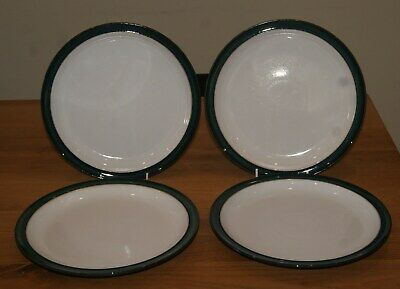 Set Of 4 Denby Greenwich Dinner Plates 26cm. 2 Sets Available • 38£
