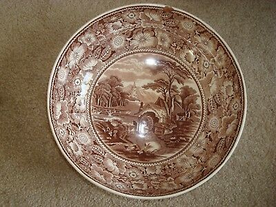Vintage  Rural England  W R Midwinter Ltd England Bowl • 10£