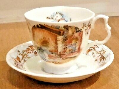 ROYAL DOULTON: BRAMBLY HEDGE 'WINTER' CUP AND SAUCER (full Size)  • 25.99£