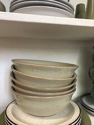Denby Daybreak 5x Cereal / Soup / Dessert Bowls - Other Bits Also Listed • 20£