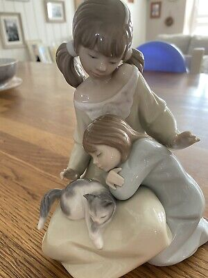 Lladro Little Sister 1534 Retired Piece Very Rare • 15£
