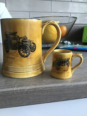 Wade Vintage Car Tankard  Baby Peugeot And Ford • 5£