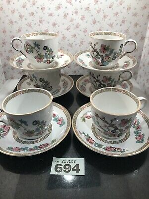 12pc Maddock England Indian Tree Teaset Cups And Saucers Tea Set For 6 • 14.75£