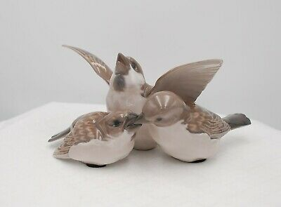 Bing & Grondahl #1670 Three Birds • 57.50£