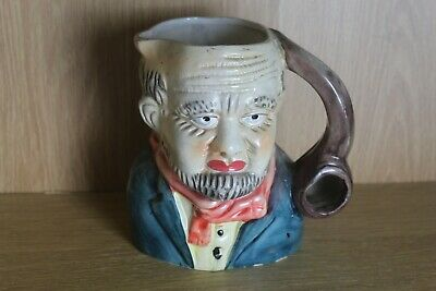 Large Toby Character Jug With Smoking Pipe Handle • 11.99£