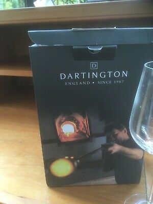 Dartington Fine Quality Wine Glasses Complete In Box • 9.99£