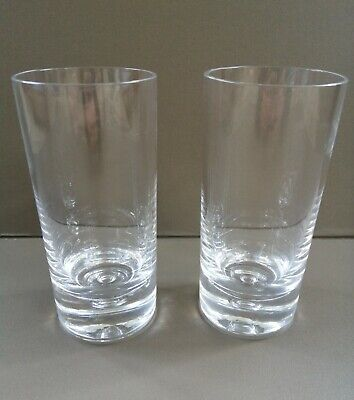 PAIR Of DARTINGTON (FT45)  EXMOOR  GLASSES, BY FRANK THROWER, 1968 - 5.5  HIGH • 25£