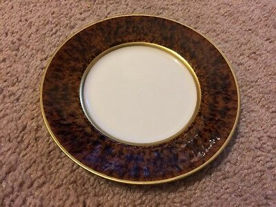 Jaune De Chrome Bread And Butter Plate NWT Limoges China 6.25  Turtle • 58.34£
