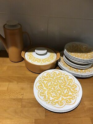 J &G Meakin Castile Maidstone 17 Piece Part Dinner Set • 90£