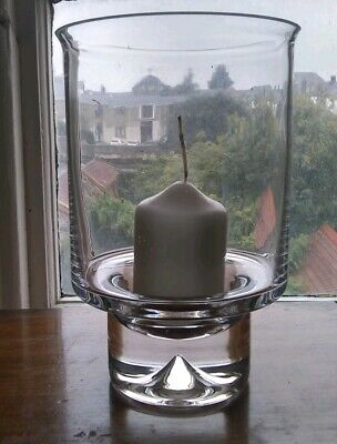 Dartington Glass Clear Barbeque Candle Holder/ Vase FT143 Boxed • 25£