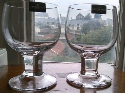 Dartington Glass Pair Of Compleat Imbiber Claret Glasses New With Sticker.FT 151 • 45£