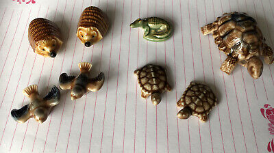 Wade England Whimsies, Original 70's & 80's,Hedgehog, Turtle, Bird, Tortoise • 1.99£
